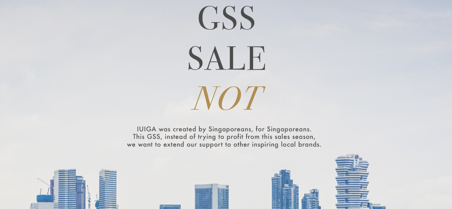 GSS Sale? NOT