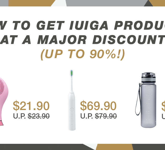How to get IUIGA products at a MAJOR discount