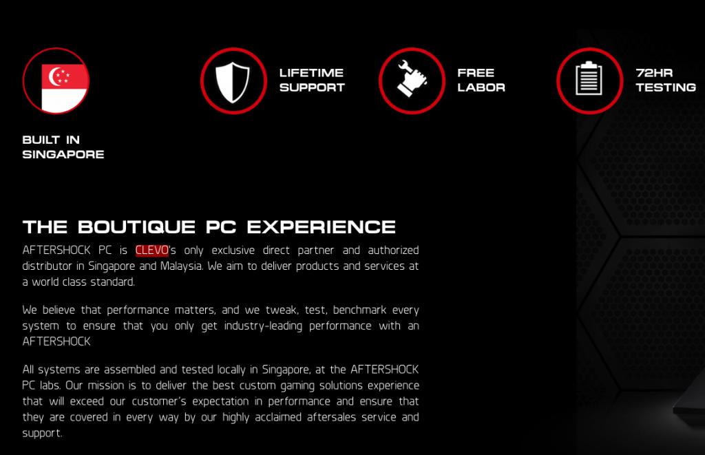 Aftershock PC