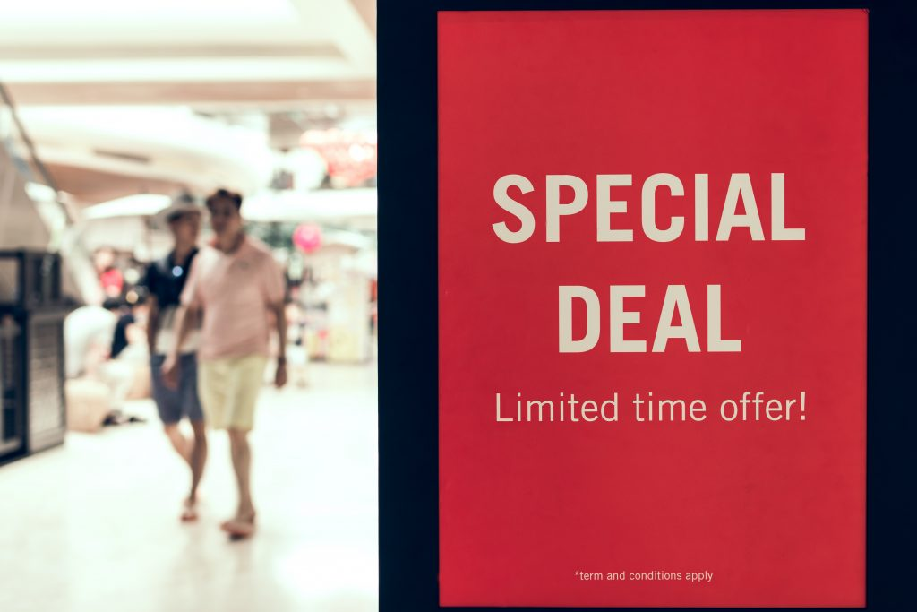 Timed Deals