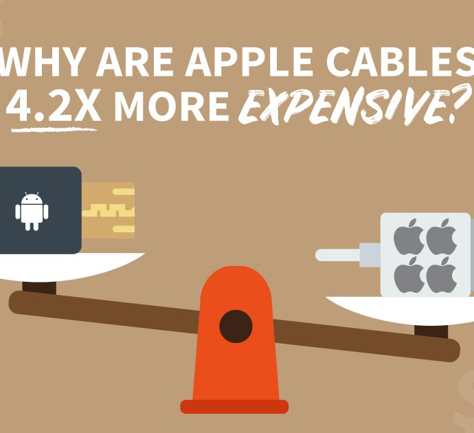 Why Are Apple Cables 4.2x More Expensive?