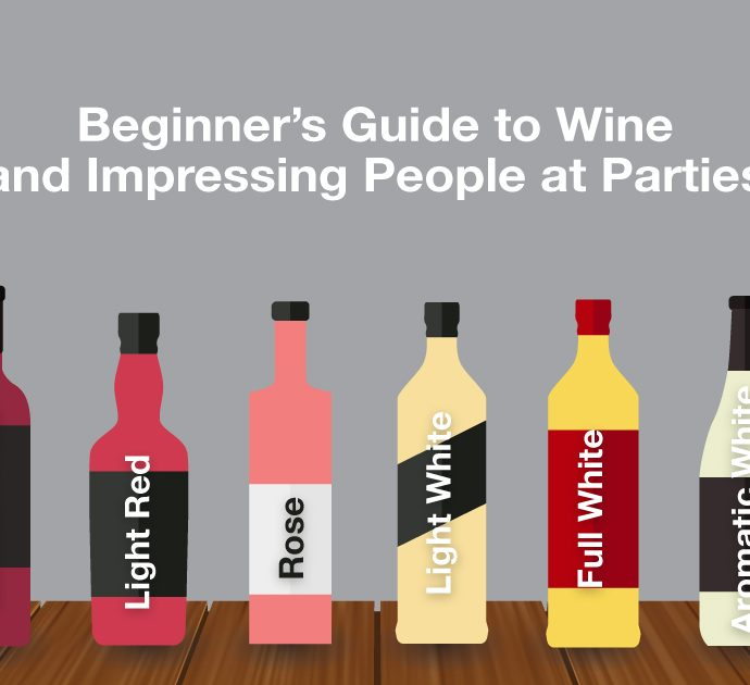 Beginner's Guide to Wine and Impressing People at Parties
