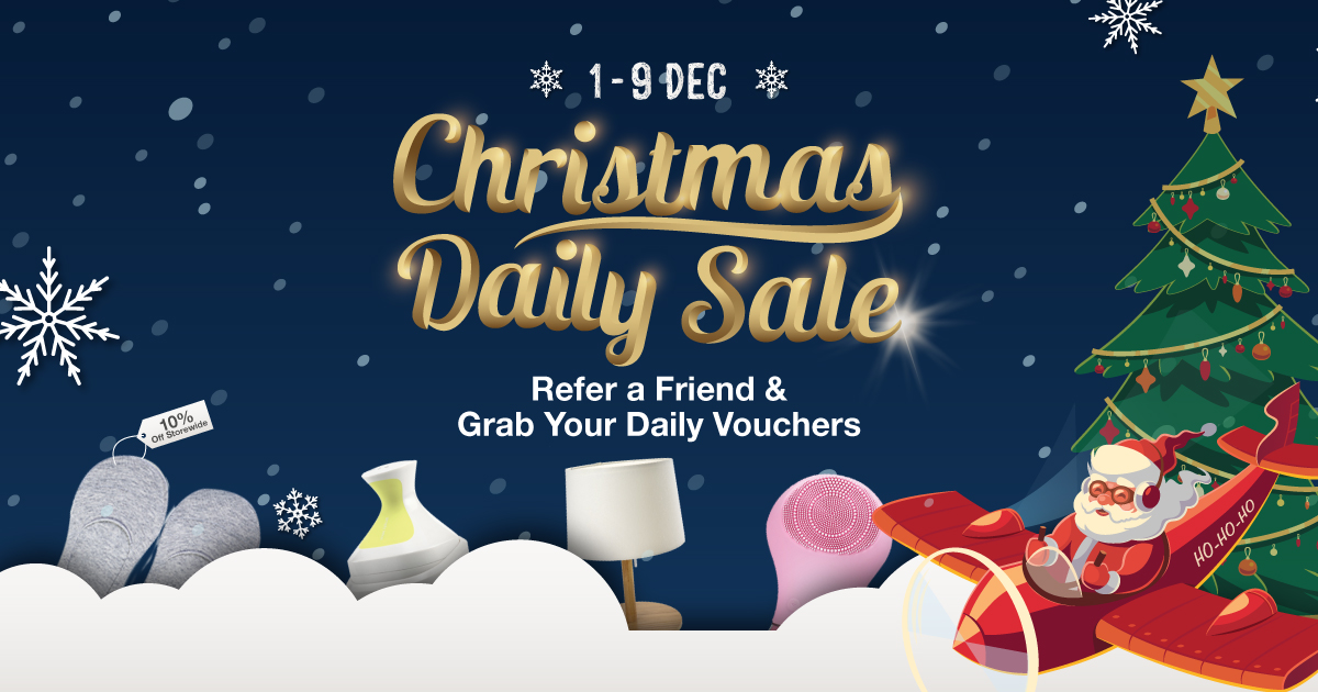 Why You Should Tell Everyone And Your Ahma About IUIGA's Christmas Countdown Sale