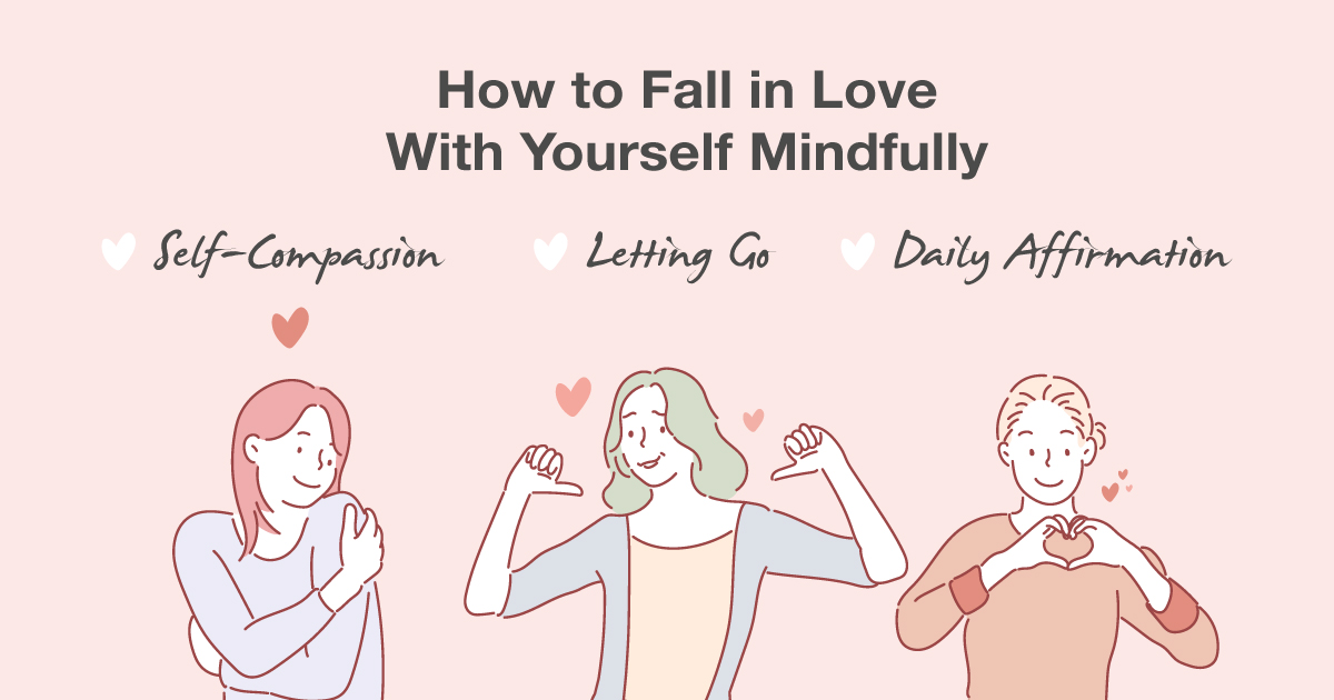 Love Yourself With These Mindfulness Self-Care Practices This Valentine's Day