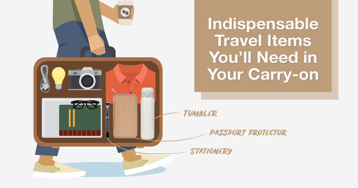 Headache Free Travel Packing Guide Part 3: What to Pack in Your Carry-on Bag