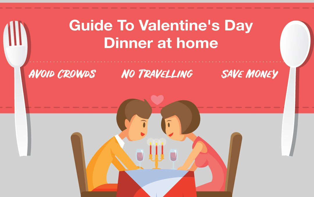 How to Pull Off a Ridiculously Romantic Valentine's Day Dinner For $100 or Less