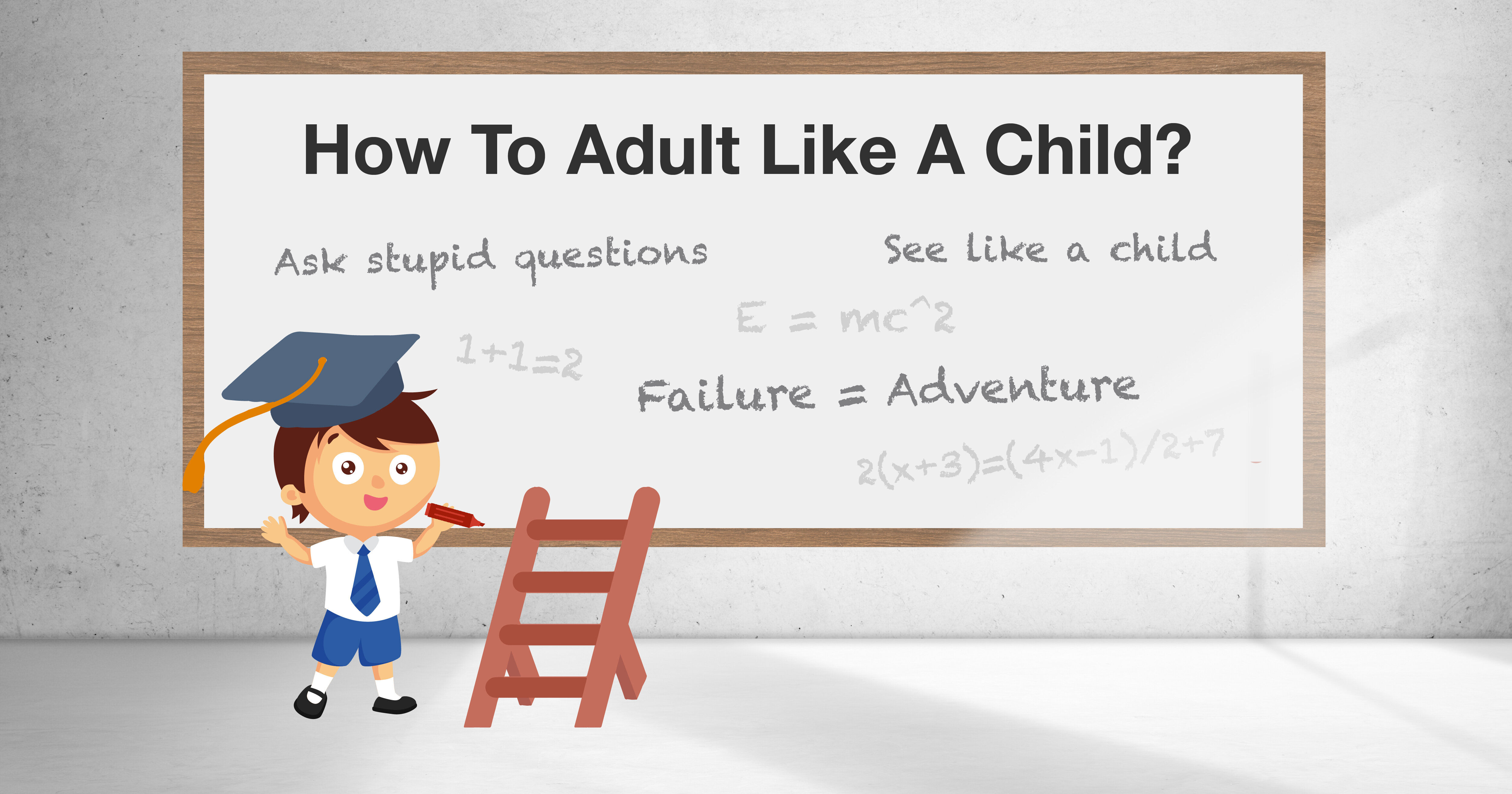 What I Learnt From Children About Adulting