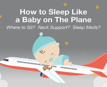 Sleep Experts Tell You How to Sleep Like a Baby on The Plane