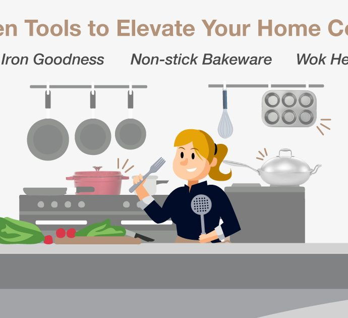 From Amateur To Pro Home-Chef – Elevate Your Home Cooking With These Kitchen Essentials
