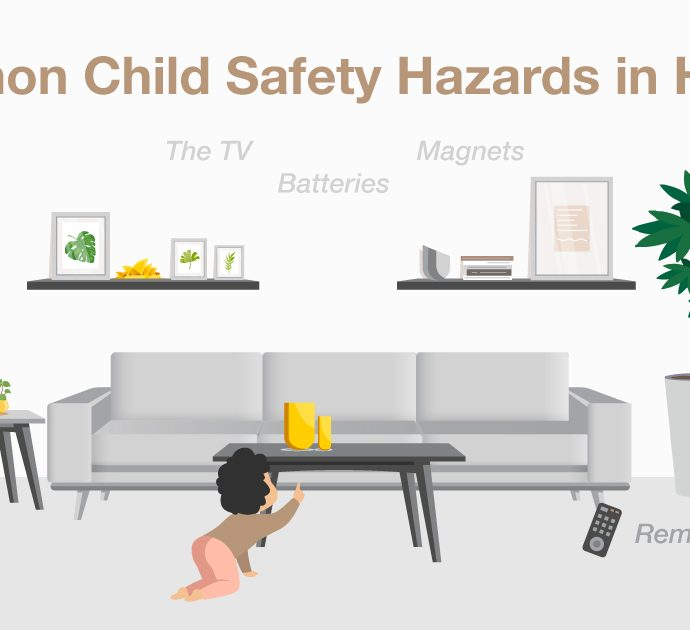 Toddler Hazard: 8 Common Household Items to Keep Away From Your Kids